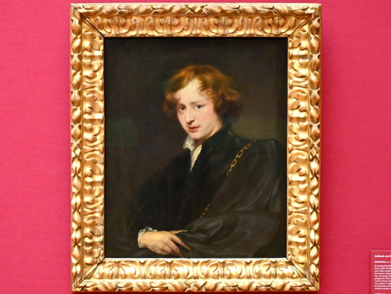 Anthonis (Anton) van Dyck: Jugendliches Selbstbildnis, Um 1620 - 1621