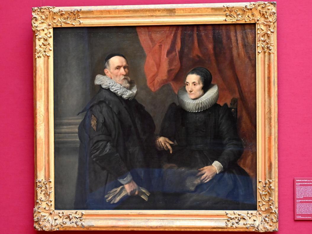 Anthonis (Anton) van Dyck: Der Maler Jan de Wael und seine Frau, Um 1629