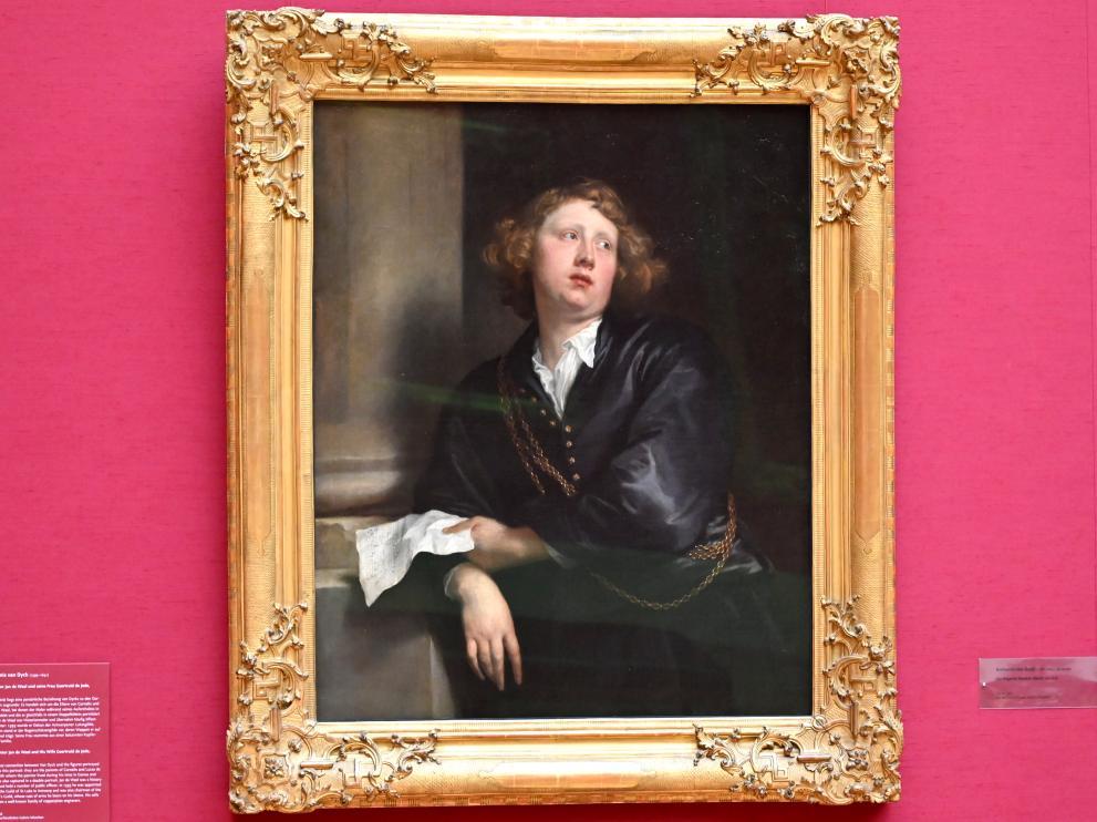 Anthonis (Anton) van Dyck: Bildnis des Organisten Heinrich Liberti, 1627 - 1632