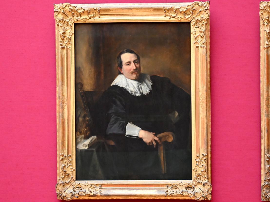 Anthonis (Anton) van Dyck: Bildnis des Malers Theodoor Rombouts, Um 1631 - 1632