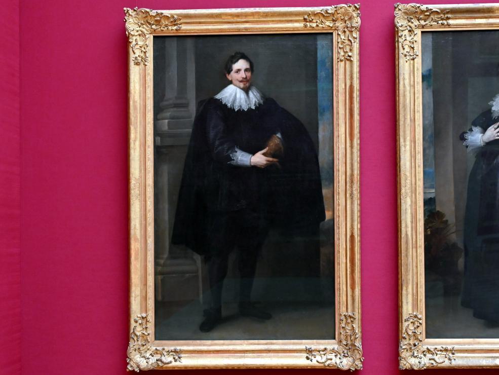 Anthonis (Anton) van Dyck (Werkstatt): Bildnis eines Herren, Um 1627 - 1632
