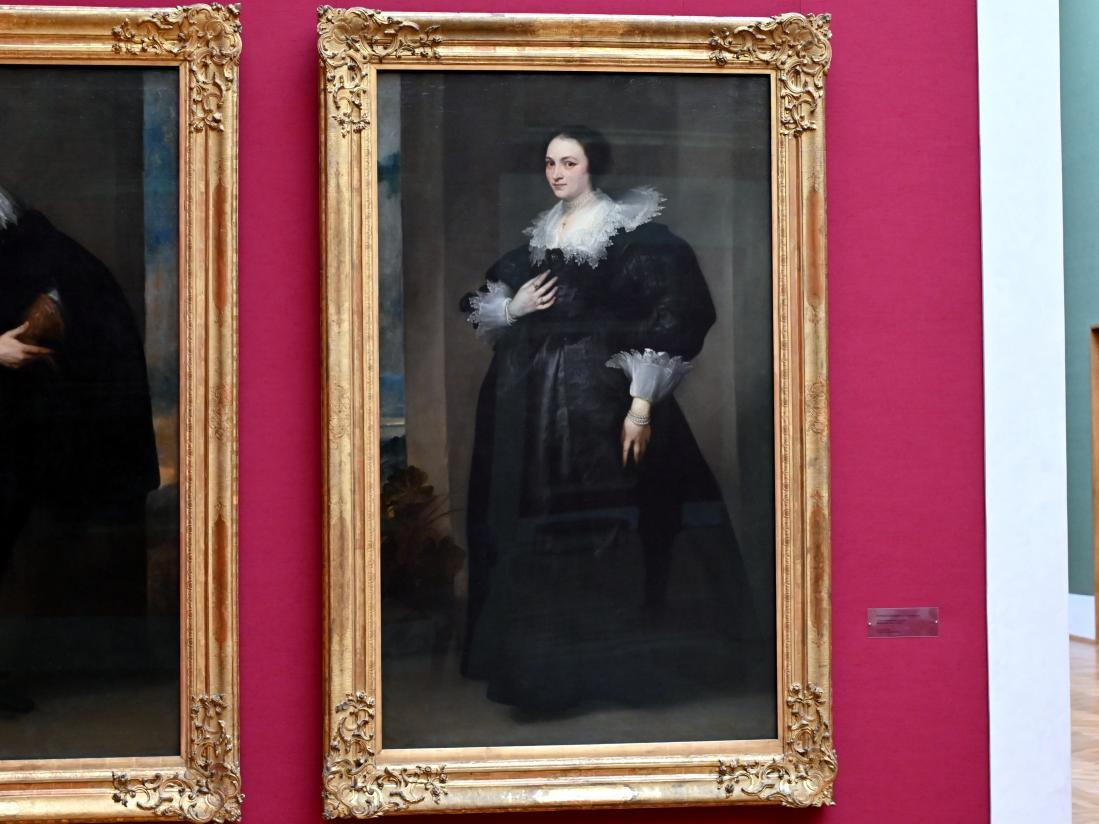 Anthonis (Anton) van Dyck (Werkstatt): Bildnis einer Dame, Um 1627 - 1632