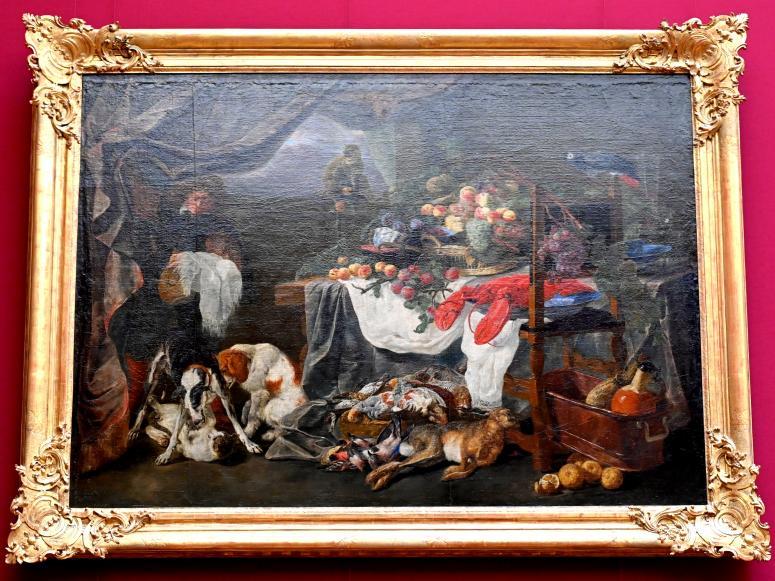 Jan Fyt: Stillleben mit Jagdbeute und Obst, Undatiert