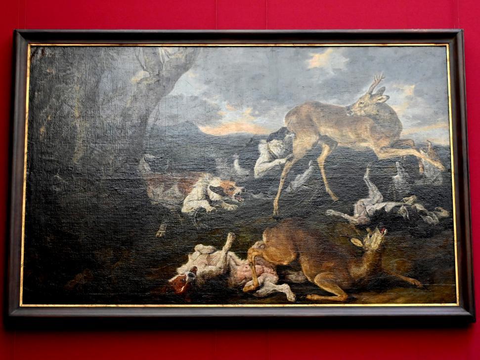 Jan Fyt: Rehe, von Hunden verfolgt, Undatiert