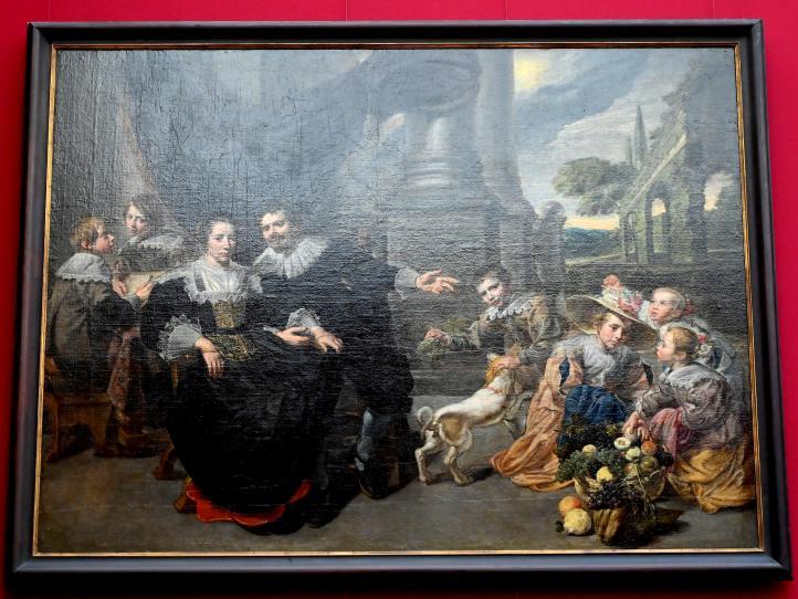 Familienbild (Flämisch?), Um 1630