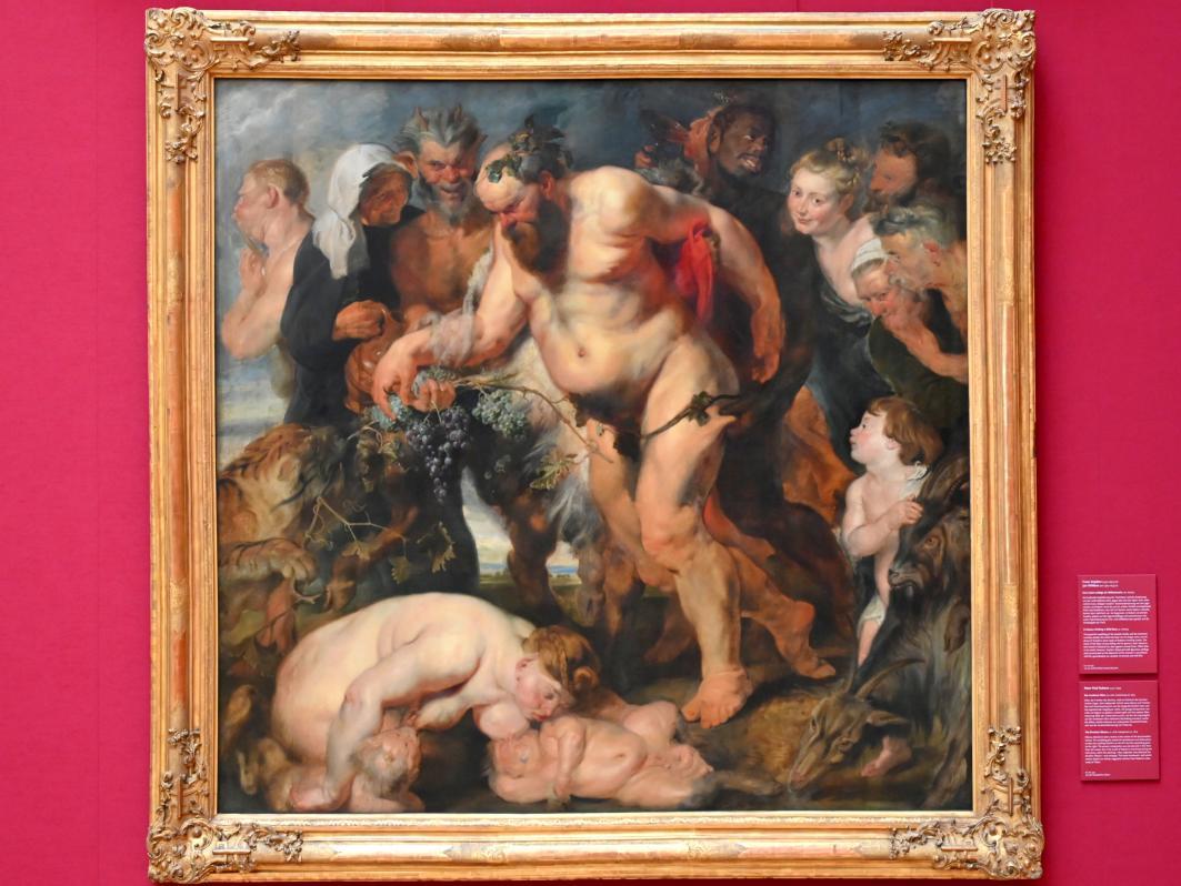 Peter Paul Rubens: Der trunkene Silen, um 1618