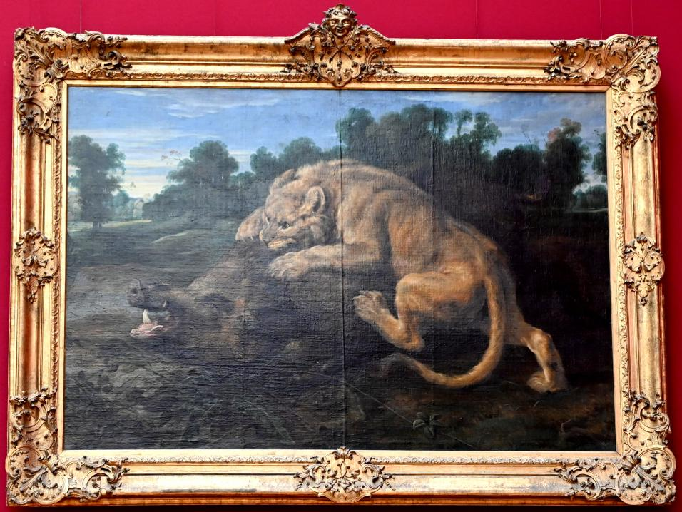 Frans Snyders: Eine Löwin schlägt ein Wildschwein, Um 1620 - 1625