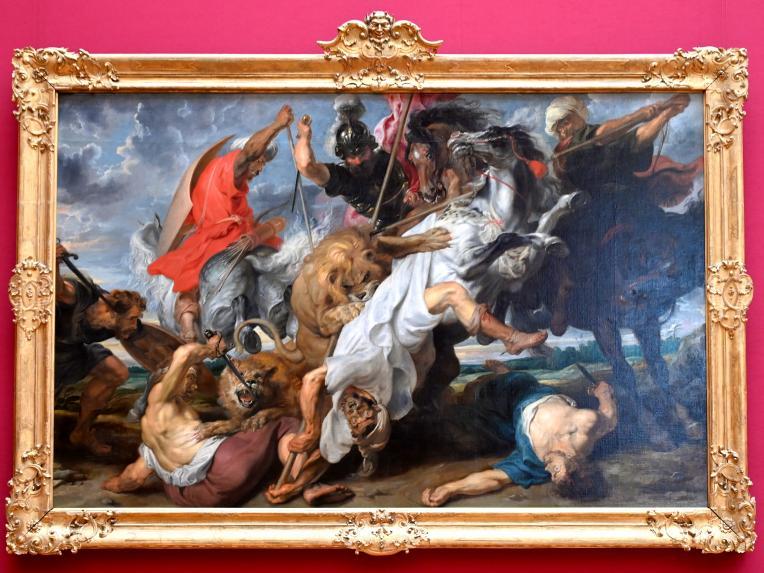 Peter Paul Rubens: Löwenjagd, 1621
