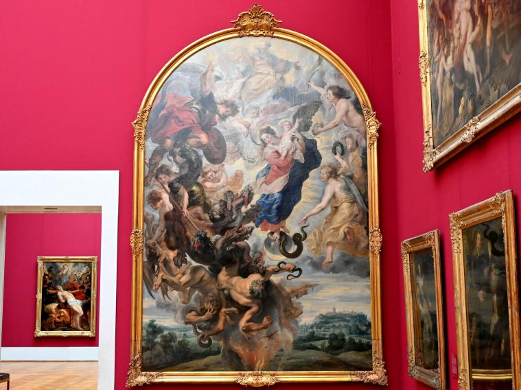 Peter Paul Rubens: Das Apokalyptische Weib, Um 1623 - 1625