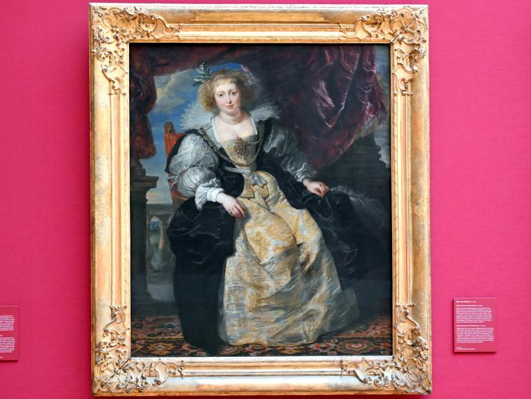 "Peter Paul Rubens: Helene Fourment ""im Brautkleid"", um 1630 - 1631"