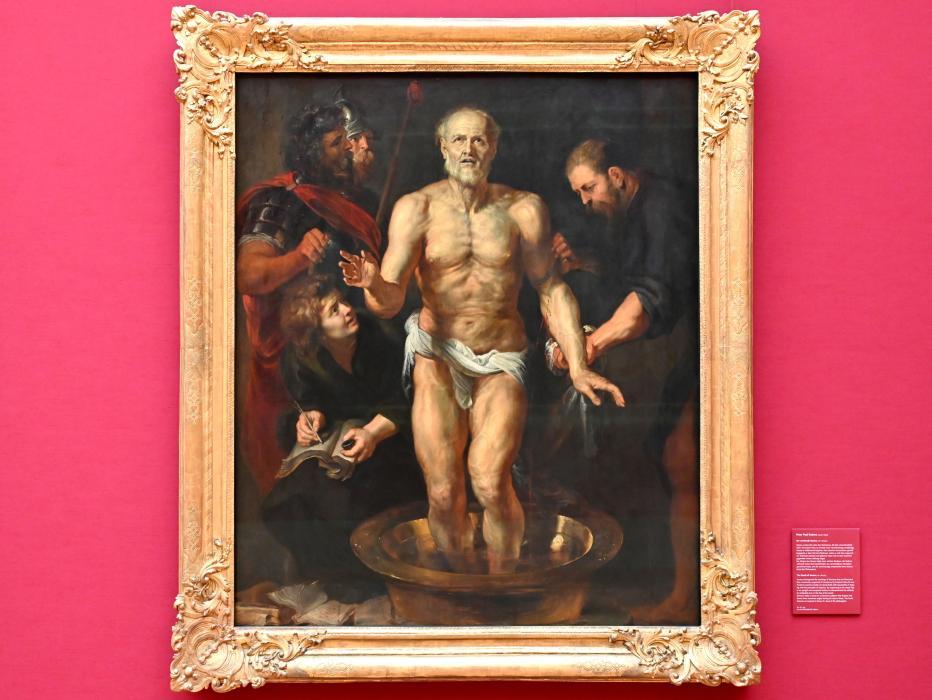 Peter Paul Rubens: Der sterbende Seneca, um 1612 - 1613
