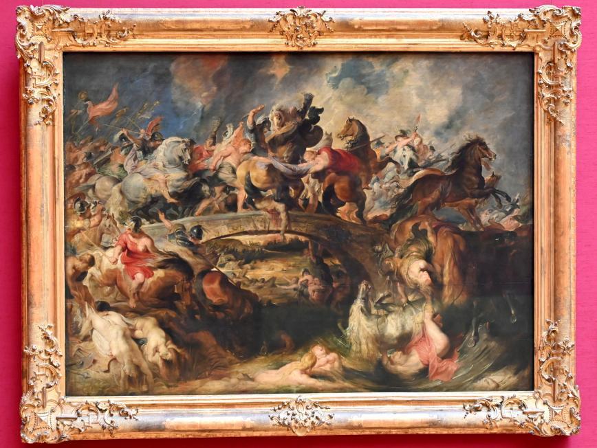 Peter Paul Rubens: Amazonenschlacht, um 1618