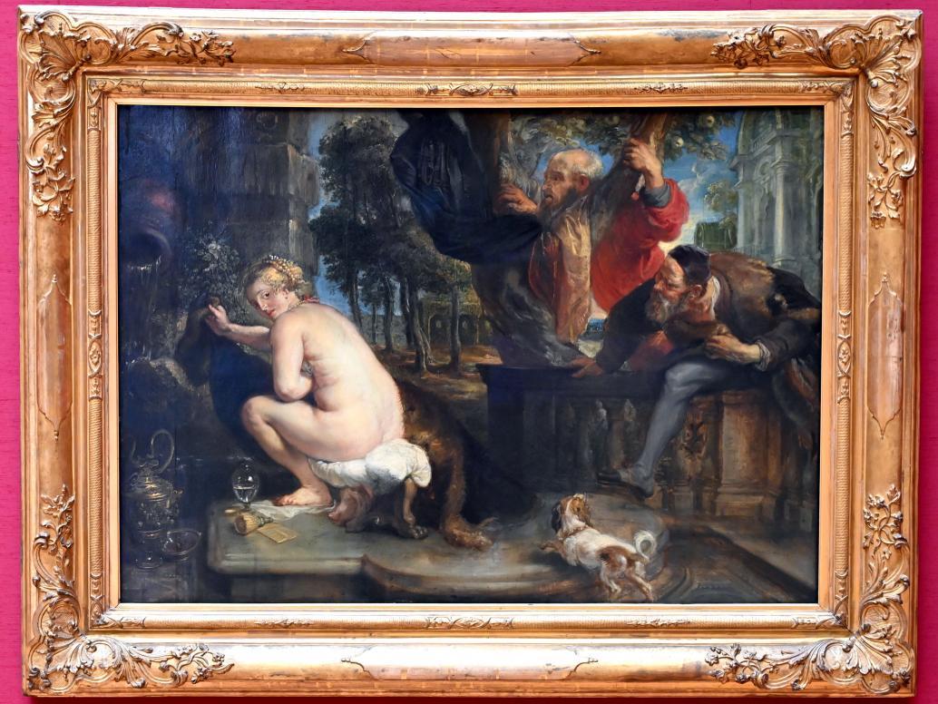 Peter Paul Rubens: Susanna und die beiden Alten, um 1636 - 1638
