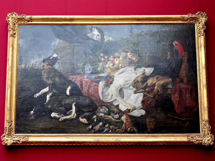 Jan Fyt: Stillleben mit Jagdhunden, Undatiert