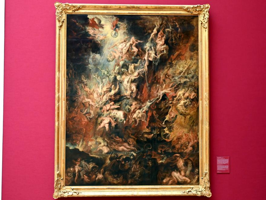 Peter Paul Rubens: Der Höllensturz der Verdammten, um 1621