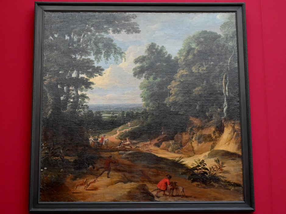 Jacques d'Arthois: Landschaft mit einer Hirschjagd, Undatiert