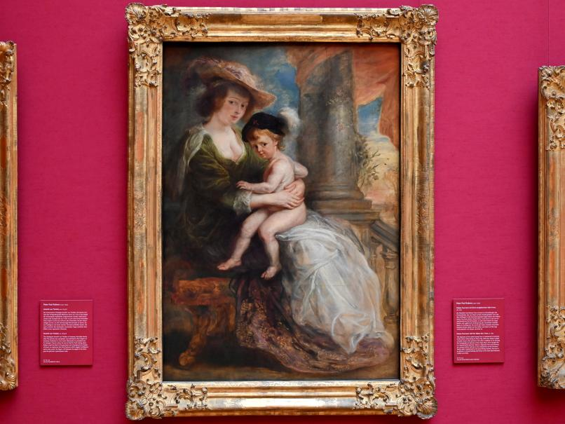 Peter Paul Rubens: Helene Fourment mit ihrem erstgeborenen Sohn Frans, Um 1632