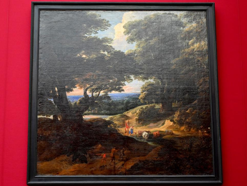 Jacques d'Arthois: Die Furt im Walde, Um 1660