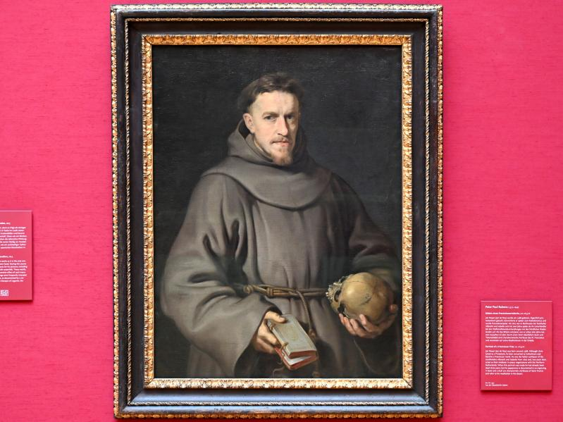Peter Paul Rubens: Bildnis eines Franziskanermönchs, Um 1615 - 1616