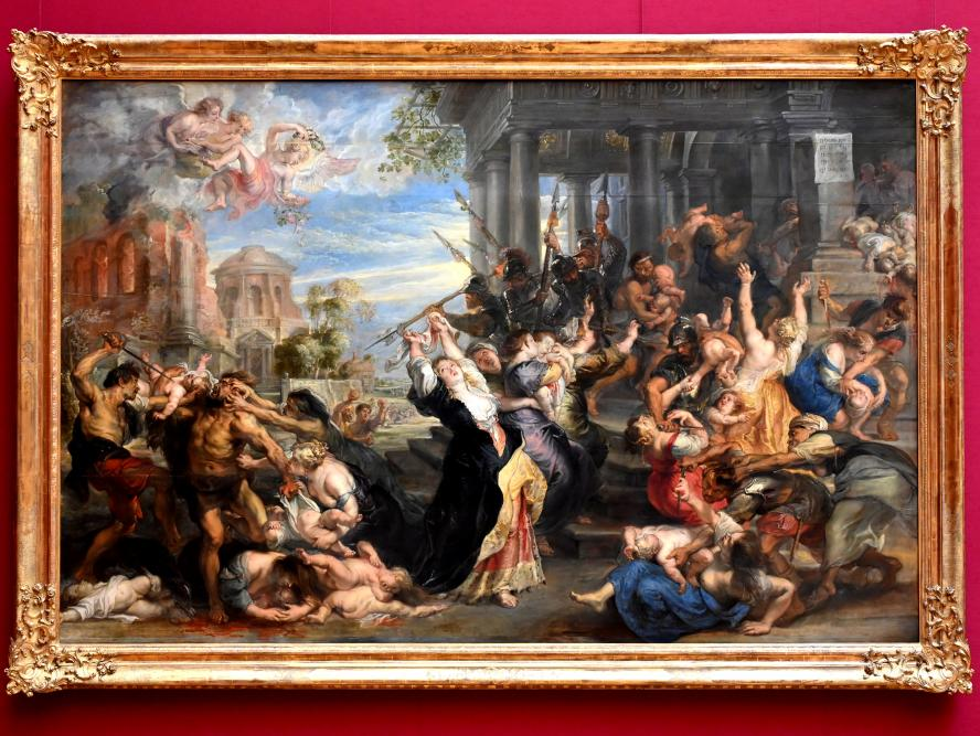 Peter Paul Rubens: Bethlehemitischer Kindermord, um 1638