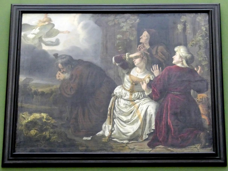 Jan Victors: Der Engel verlässt die Familie des Tobias, 1651
