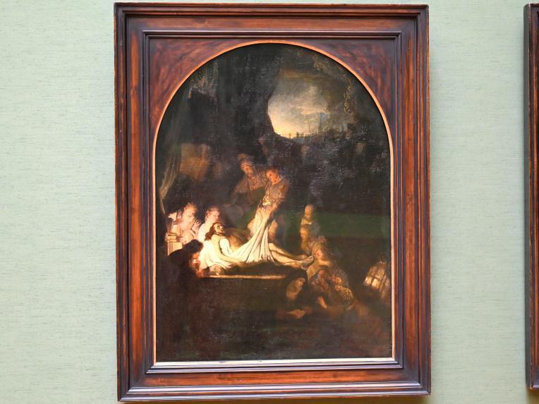 Rembrandt (Rembrandt Harmenszoon van Rijn): Grablegung Christi, 1636 - 1639