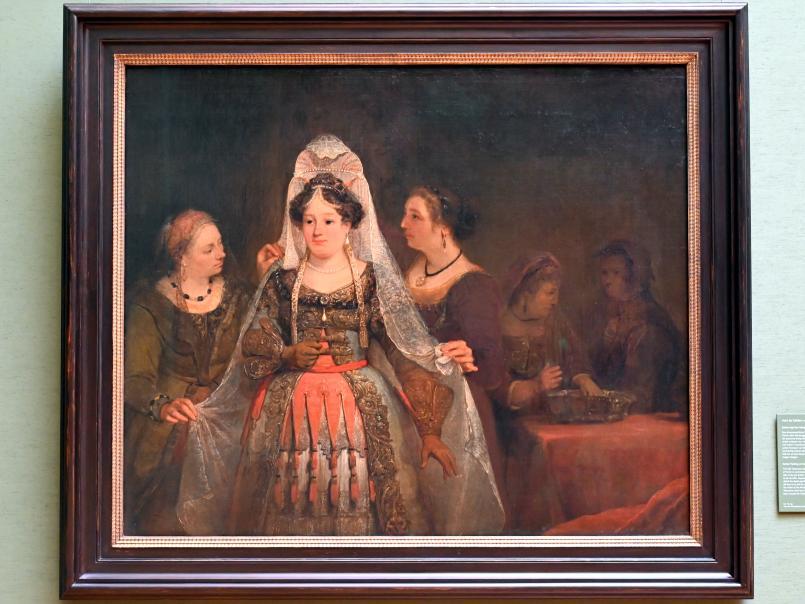 Aert de Gelder: Esther legt ihre königlichen Gewänder an, 1684