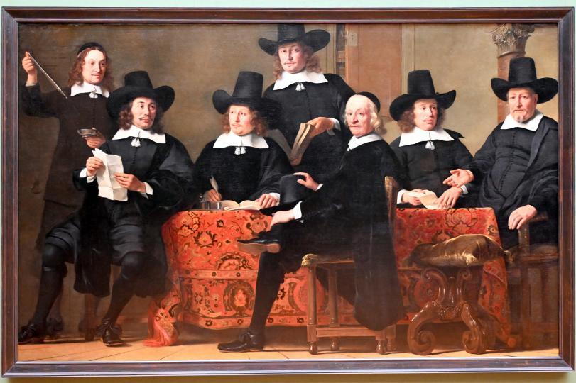 Ferdinand Bol: Die Vorsteher der Amsterdamer Weinhändlergilde, 1659