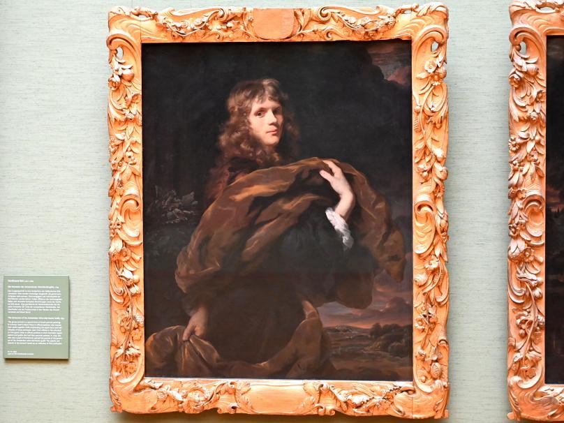 Nicolaes Maes: Bildnis eines jungen Herrn, um 1675 - 1680