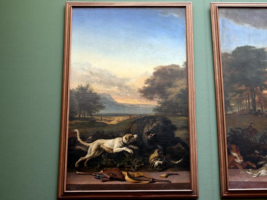 Jan Weenix: Saujagd, um 1710 - 1716
