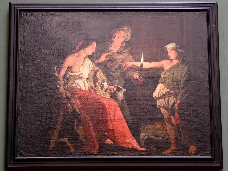 Matthias Stom: Die Verspottung des Ceres, Um 1640 - 1649