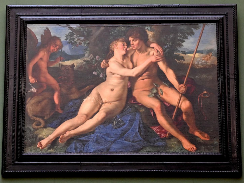 Hendrick Goltzius: Venus und Adonis, 1614