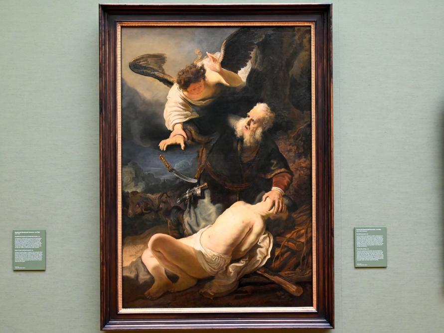 Rembrandt (Rembrandt Harmenszoon van Rijn): Die Opferung Isaaks, 1636