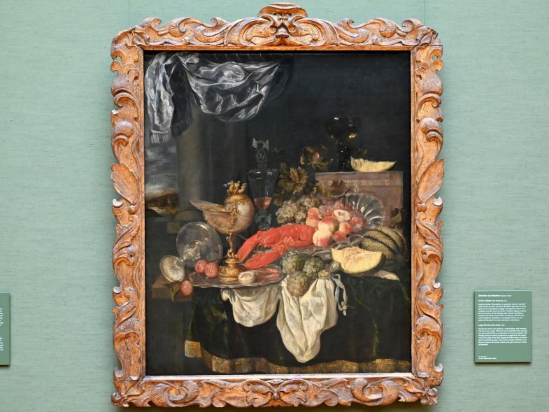 Abraham van Beyeren: Großes Stillleben mit Hummer, 1653
