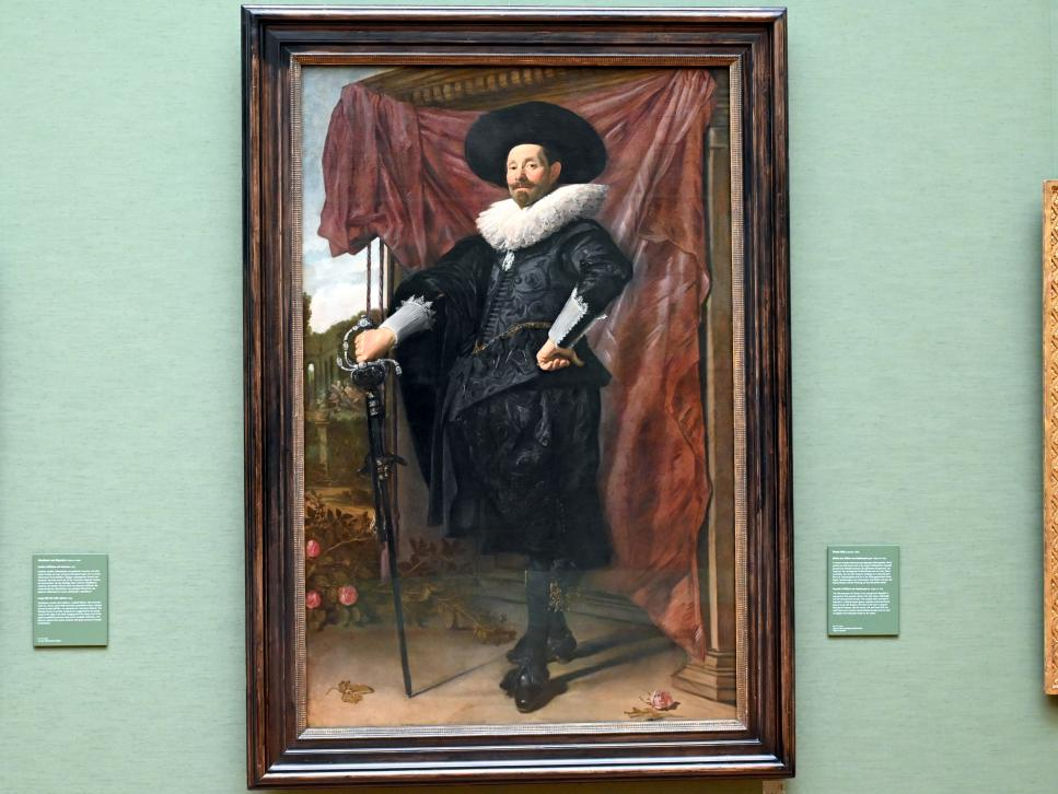 Frans Hals: Bildnis des Willem van Heythuysen, Um 1625