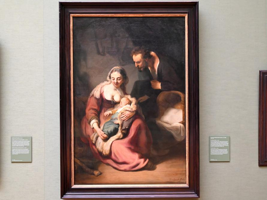 Rembrandt (Rembrandt Harmenszoon van Rijn): Die Heilige Familie, um 1633 - 1635