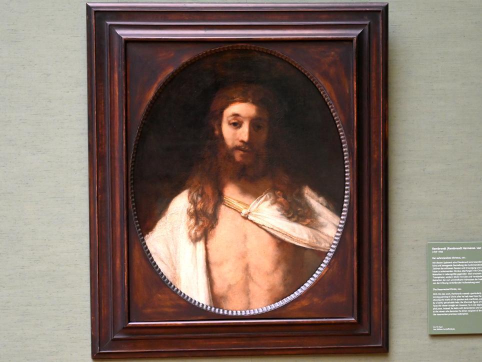Rembrandt (Rembrandt Harmenszoon van Rijn): Der auferstandene Christus, 1661