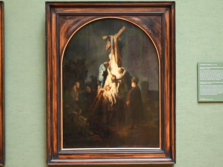 "Rembrandt (Rembrandt Harmenszoon van Rijn): Kreuzabnahme Christi aus dem ""Passionszyklus"", 1633"