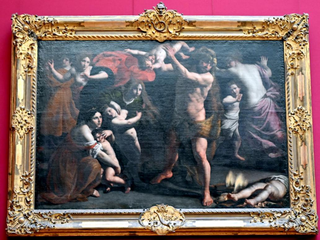 Alessandro Turchi (L'Orbetto): Der rasende Herkules, Um 1620