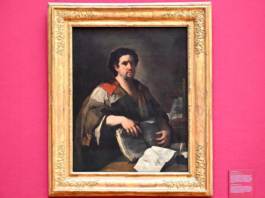 Luca Giordano: Ein kynischer Philosoph, Um 1650 - 1653