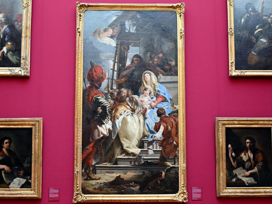 Giovanni Battista Tiepolo: Die Anbetung der Könige, 1753