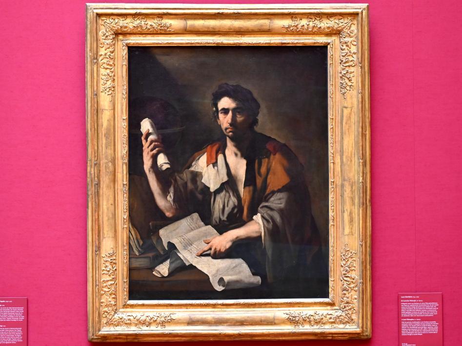 Luca Giordano: Ein kynischer Philosoph, 1650 - 1653