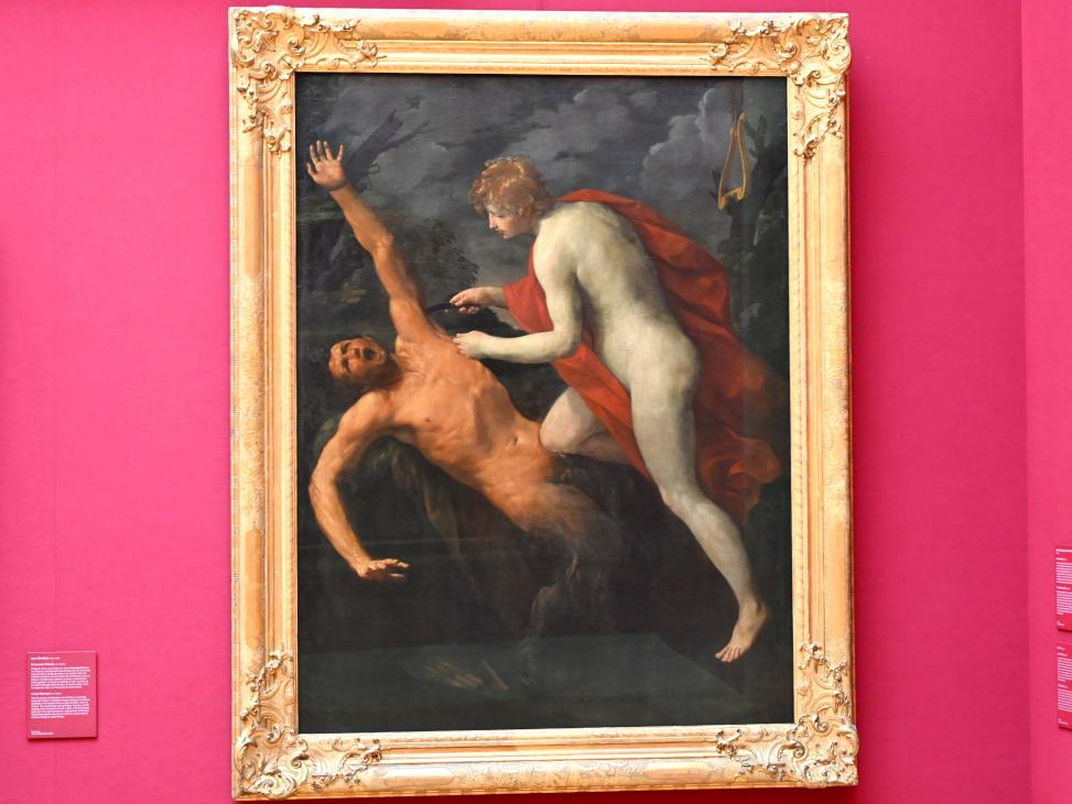 Guido Reni: Apoll schindet Marsyas, Um 1633