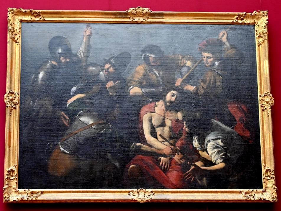 Valentin de Boulogne: Dornenkrönung Christi, Um 1616 - 1617