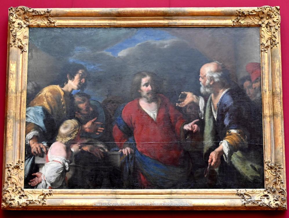 Bernardo Strozzi: Das Gleichnis vom Zinsgroschen, Nach 1630