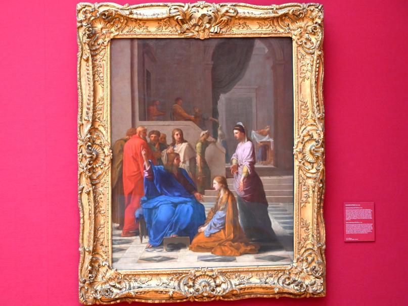 Eustache Le Sueur: Christus im Hause der Martha, Um 1654