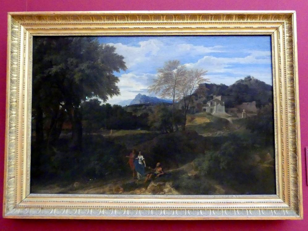 Jean-François Millet: Klassische Landschaft, Um 1665