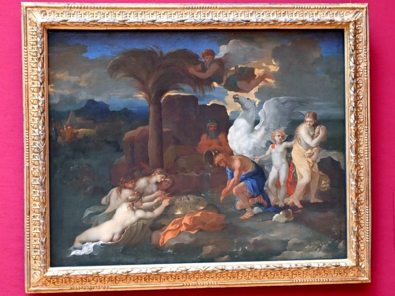 Sébastien Bourdon: Die Befreiung der Andromeda, Um 1650