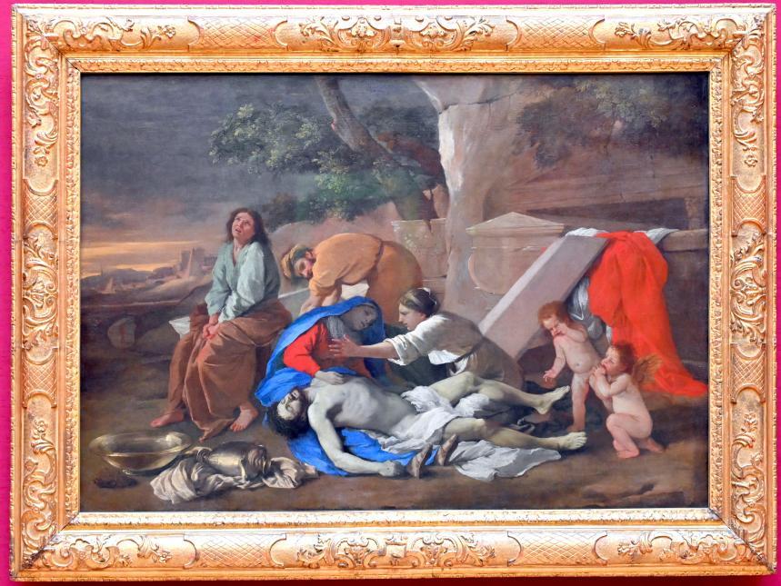 Nicolas Poussin: Beweinung Christi, Um 1628