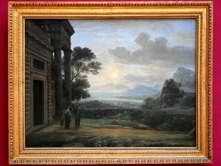 Claude Lorrain (Claude Gellée): Die Verstoßung der Hagar, 1668